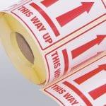 9 8 Parcel Labels Banner